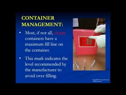Medical Waste Sharps Packing Maryland