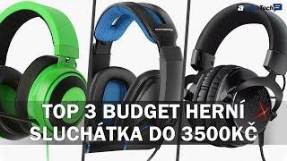 Nejlepší herní sluchátka do 3500 Kč! - AlzaTech #719