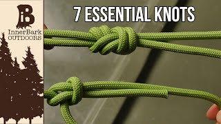 7 Essential Knots You Need To Know thumbnail