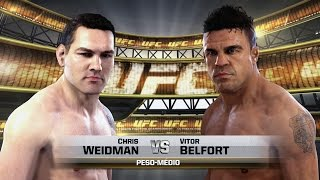 WEIDMAN VS BELFORT - UFC 187 - EA SPORTS UFC [XBOX ONE]