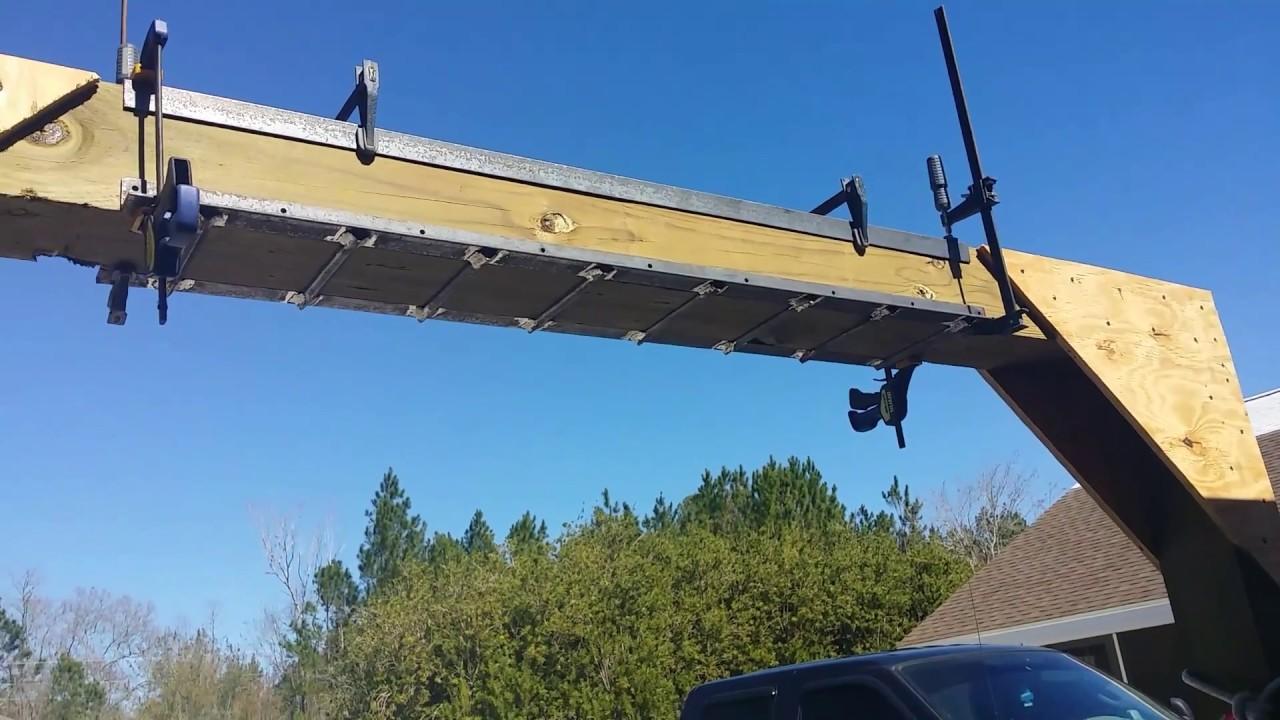 Wood Gantry Crane Part5