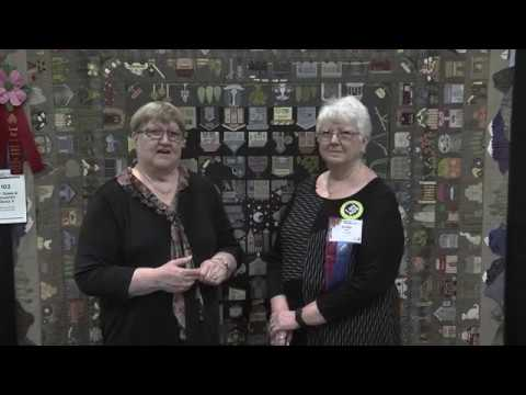 Shirley Guier Wins 2nd Place in Large Quilts: Stationary Machine Quilted Category