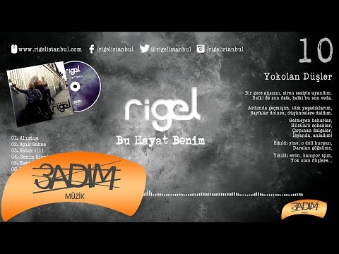 Rigel - Yokolan Düşler ( Official Lyric Video )