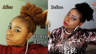 How I colored my hair| Honey Blonde| Clairol hair color