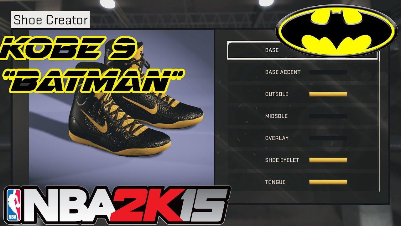 691afa16c95 ... italy nba 2k15 shoe creator kobe 9 batman xbox one ps4 64e5d 587f7