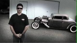 Cool Hemi Powered Bare Metal 34 Coupe