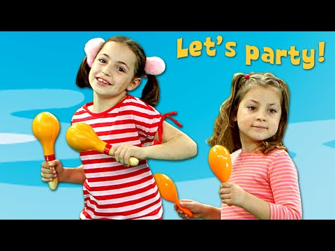 Let's Party | Kid Songs Compilation by Zouzounia TV | 60 minutes