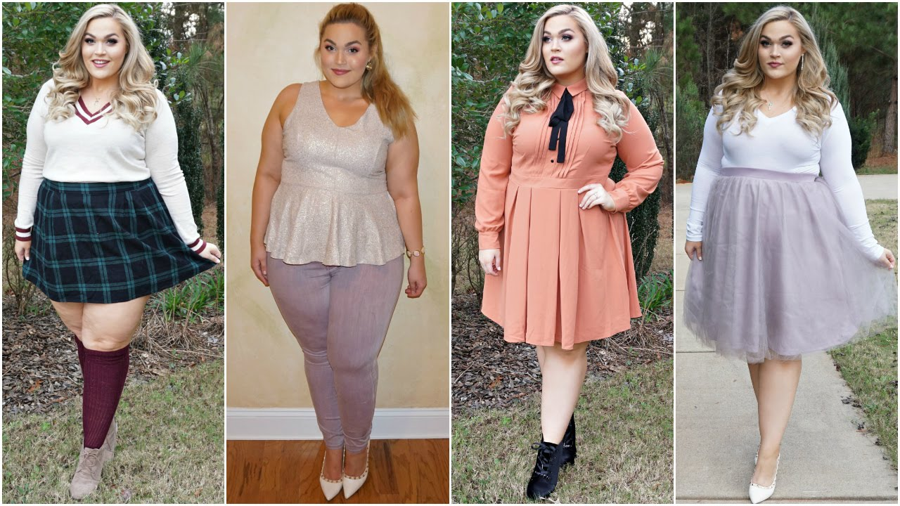 Cute Spring Outfits | Plus-Size Lookbook - YouTube