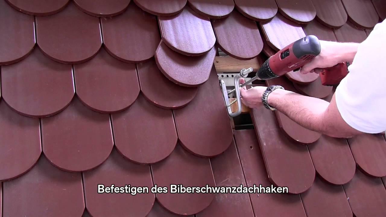 novotegra f r ziegeldach biberschwanz dachhakenmontage