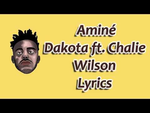 Aminé - Dakota Lyrics(Lyrics Video)