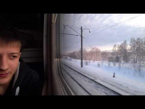 Первый раз еду на поезде из Новокузнецка в Сузун ,поезд Абакан -Москва