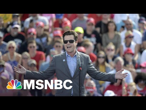 Investigation Of Gaetz Pre-Dates His Extortion Claim By Months: NYT   Rachel Maddow   MSNBC