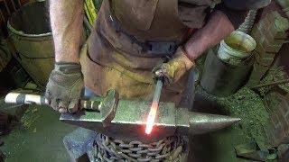 Blacksmithing - Need A Tool Make A Tool - Blacksmiths Jock Strap   Upsetting Hip Block