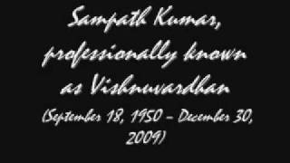 Naa haadalu neevu aadabeku[kalla kulla]- an instrumental remembering Dr Vishnuvardhan