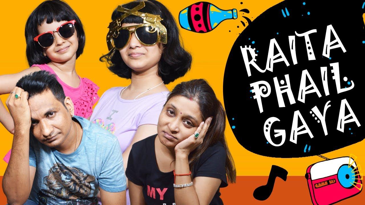 Raita Phail Gaya | Family Comedy | Cute Sisters