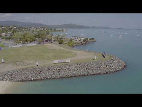 Waterfront Property Flyover At One Airlie Whitsundays