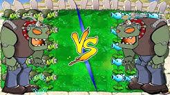 Plants vs Zombies Hack - Plant FIRE vs Plant ICE vs Dr. Zomboss