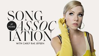 Carly Rae Jepsen Sings ABBA, The Beach Boys and Nat King Cole in a Game of Song Association | ELLE