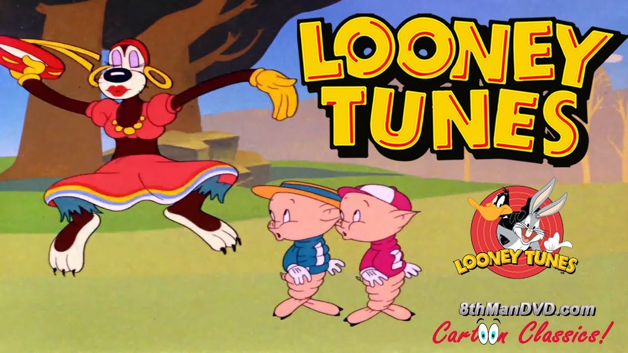 LOONEY TUNES (Looney Toons): Pigs in a Polka (1943) (Remastered) (HD 1080p)