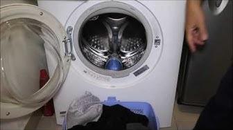 Hướng dẫn sử dụng máy giặt cửa trước