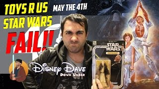 TOYS R US STAR WARS 40TH ANNIVERSARY BLACK SERIES FAIL!