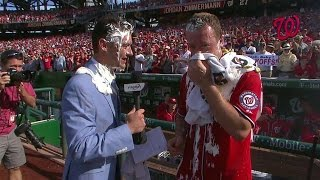 MIA@WSH: Zimmermann gets pied after throwing no-no