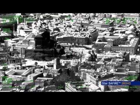 FLIR Star SAFIRE® 380-HD EO/IR IMAGING SYSTEM over Paris, France