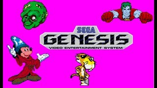 Top 50 worst Sega Genesis games
