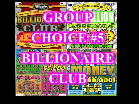 "GROUP CHOICE #5 ""BILLIONAIRES CLUB"" We found the 5X"