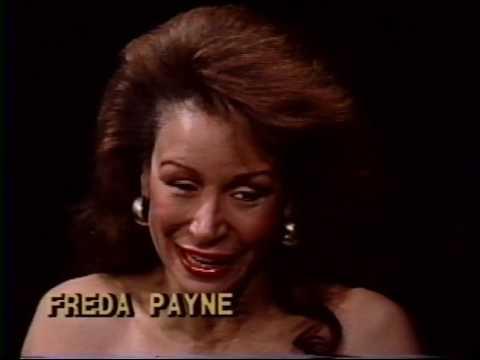 Freda Payne--Rare 1989 TV Interview