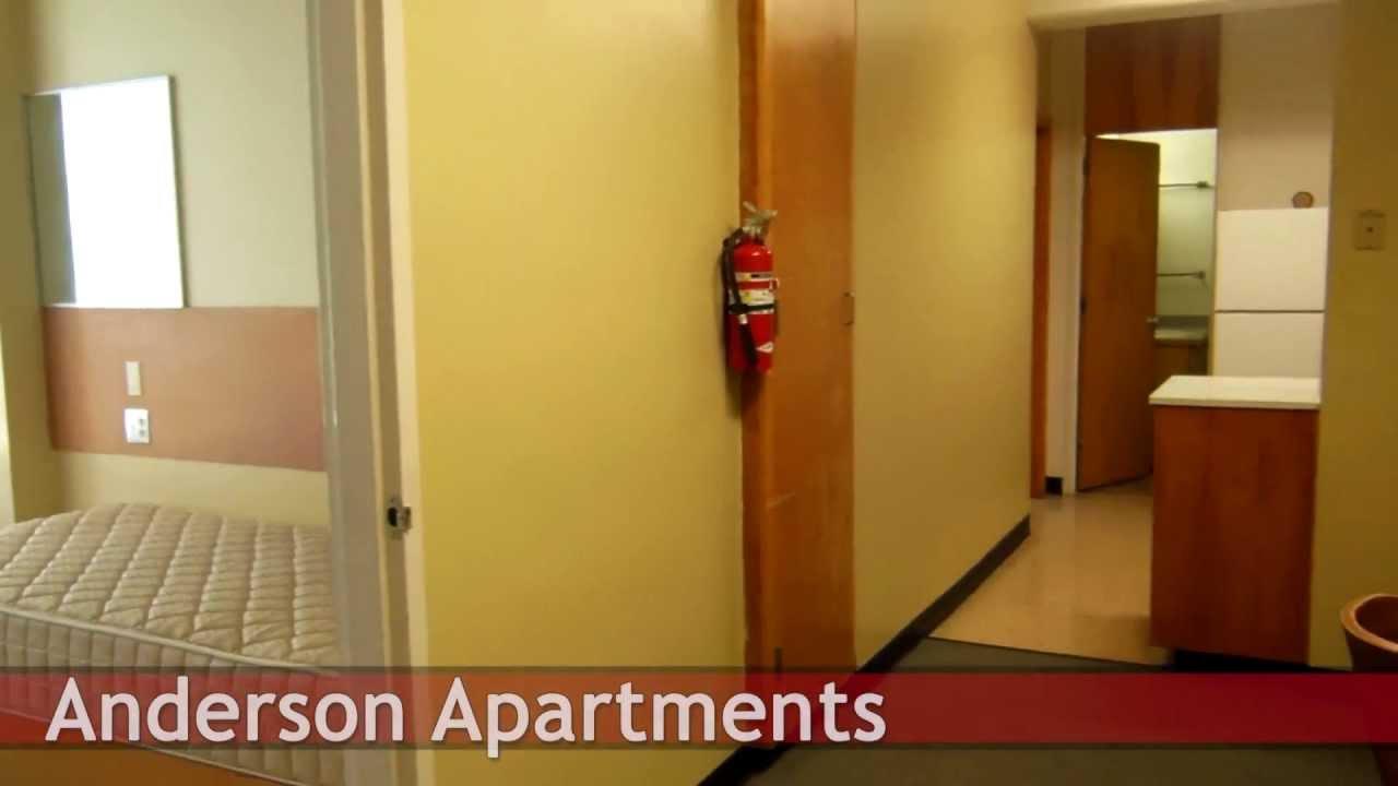 Anderson Apartment Tour - Central Washington University