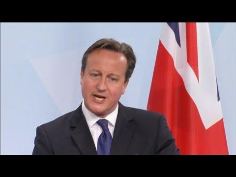 David Cameron backtracks on EU referendum