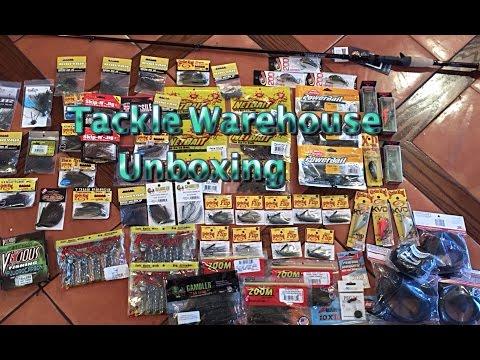 Massive Tackle Warehouse Unboxing   Black Friday