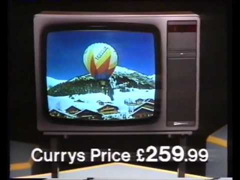 Currys advert 1986 (OLD Adverts)