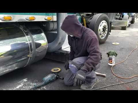 DIY How to polish a tank Tony's Metal Art Polishing