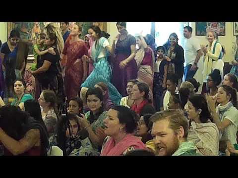 Nadiya Mani Dasi Chants Hare Krishna at Alachua Snana Yatra