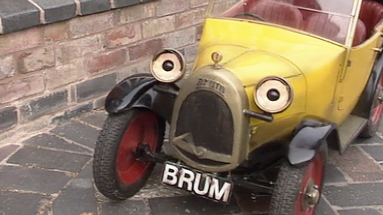 Brum Removal Van Kids Show Full Episode Youtube