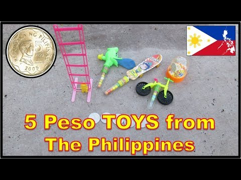 5 Peso Cheapo Toys from the Philippines - ZESTAR Toys Candy
