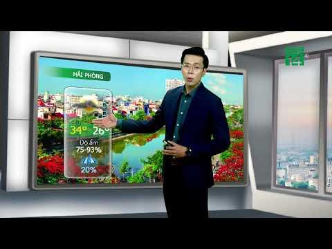 Thời tiết đô thị 28/07/2019: Hà Nội oi bức cả ngày| VTC14