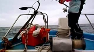 全隆號海釣船  鐵板路亞 紅魽  卡通人物變態小隊 2015 03 08