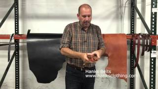 Full Grain Leather Facts From Hanks Amish Belts