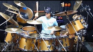 Gino Vannelli - I Just Wanna Stop Drum Cover by Alan Badia on TAMA Superstar Drums YouTube Videos