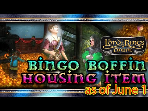 ▲ LOTRO ▲ - Bingo Boffin Housing Items Preview - The Lord of The Rings Online ▲