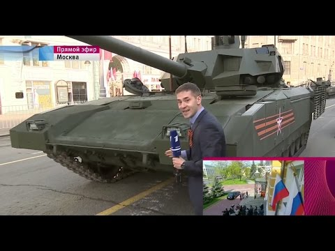 Трансляция Парада в День Победы в Екатеринбурге на Площади