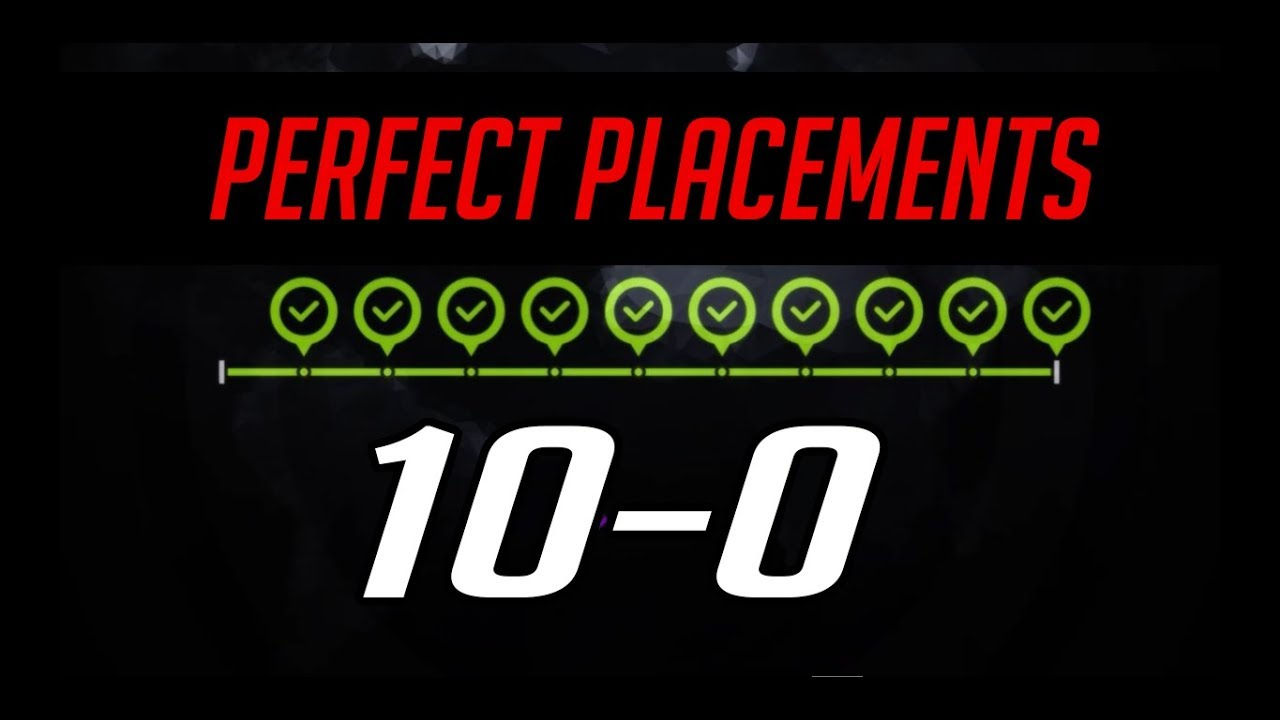 10 0: PvPTwitch [10-0] PERFECT Season 7 PLACEMENTS