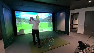 Parkhouse Golfsim Uneekor Installation