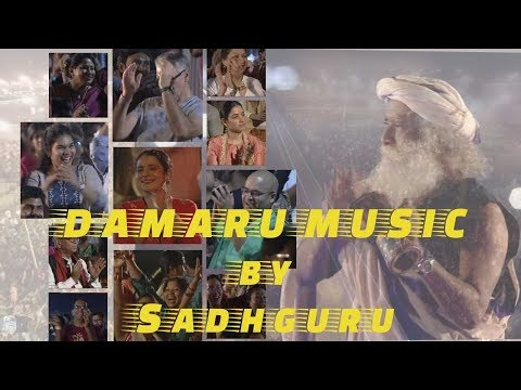 Isha Devotees  Exuberantly Soaked in Damaru music played by Sadhguru on MahaShivaRatri 2018