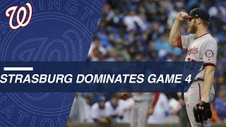 Strasburg dominates Game 4