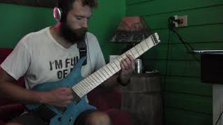 """Haken """"Messiah Complex I: Ivory Tower"""" GUITAR COVER"""