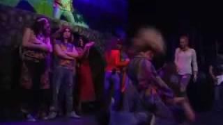 Театр Стаса Намина. Мюзикл «Волосы». Сцена - эротика, секс. 2009